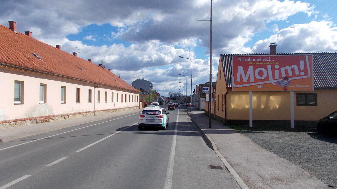 PIO Plakatiranje - Varaždin, Optujska ulica